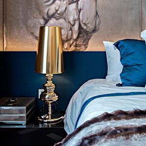 illuminazione camera da letto Lampada da tavolo moderna retrò scrivania luce lusso Hotel Villa scrivania soggiorno comodino luce tabella principale