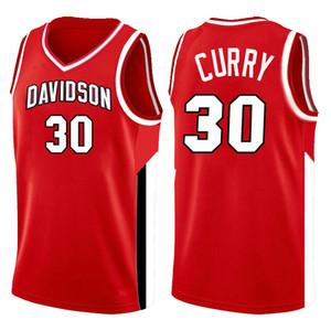 2020 Top 30 Stephen NCAA Curry Davidson Wildcats College-Jersey 3 Dwyane 10 Dennis 25 Wade Rodman RICHARDS Marquette golden Eagles CESREGsac