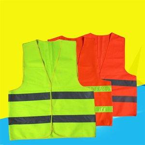 Réfléchissante à rayures trafic Gilets de haute visibilité Gilet de sécurité pour Éboueur adjoint de la police de vêtements de travail de T1I1724