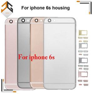Для iPhone 6S задняя крышка корпуса металлическая рама замена для iPhone 6S Plus крышка батарейного отсека задняя крышка шасси рама Бесплатная доставка