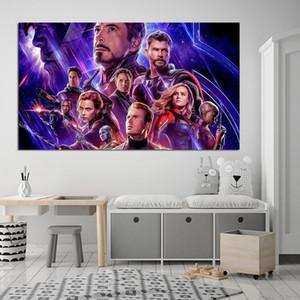 Avengers Peinture Infinity War Marvel Superheroes peinture sur toile Accrochage affiche Imprimer décorative Home Decor