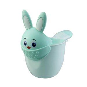 Neonato Bambino Doccia Shampoo Coppa Cartoon Baby Shower Coppa bambino Acqua Cucchiaio bagno Watering