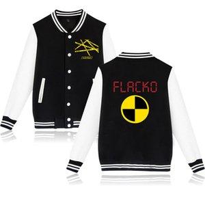Рэпер ASAP Rocky колледжа бейсбол куртка Мужчины Jaqueta Мода Streetwear Мужчина для Hip Hop Harajuku Толстовка Мужской спортивной одежды