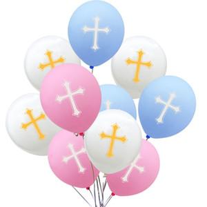 Paskalya Balon Dekorasyon Çapraz Balon Lateks Balon Şenlikli Parti Easter Parade Çapraz Balonlar Hava Topu Dekorasyon
