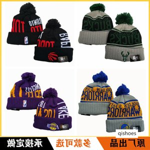 Outside Single Stereo Embroidery Knitting Wool Hat Fierce Dragon Clippers Stag Warrior Basketball Team Cold Couple Keep Warm Cap