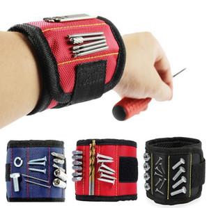 10 자석 나사 손톱 드릴 비트 전기 가방 자석 팔찌 휴대용 작은 도구 가방 도구에 대 한 자기 팔찌 DHL