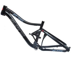 Última suspensión completa del marco de aleación de aluminio MTB DH ciclo de la bicicleta de montaña 26/17 * 27.5er de 15,5 pulgadas de descenso Parte de bicicletas