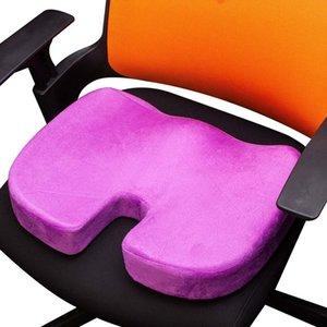Viagem respirável Almofada Cóccix ortopédico Memory Foam U Chair Assento Massagem Almofada Pad Car U-Shape Assento