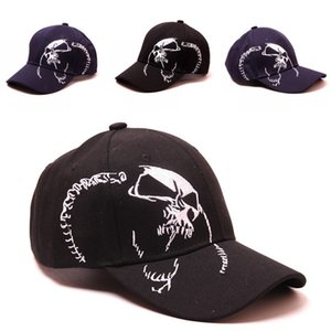 2020 New Personality Skull Embroidered Baseball Cap Men & Women Fashion Outdoor Sports Cap Couple Sun Hat