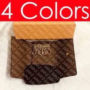 6 PORTACHIAVI Portafoglio M62630 Designer Fashion Donna Unisex Car Key Case Pouch Luxury Pocket Organizer Pochette Accessori Cles Titolare della carta