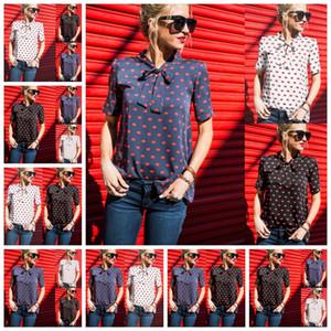 2021 Europäischer Frühling, Sommer, New Products heiße Verkaufs-Lippen Chiffonhemd Freizeithemd binden, stützt Mischreihe