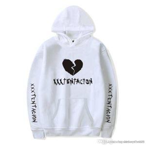 R.I.P Rapper Sweats à capuche fans American Hot Fleece Sweat XXXTentacion Hommes Femmes