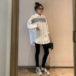2020 high-quality women shirt spring and summer fashion business long-sleeved shirt casual comfortable clothing C6I1