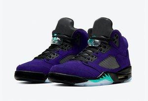 Nouvelle arrivée 5 Autre Raisin Violet 2020 Hommes baskeball Chaussures de sport Sneakers Baskets Jumpman Baskets Taille 36-47 avec la boîte