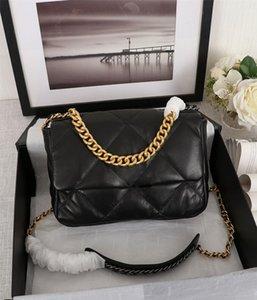 Tasarımcı Lüks Çantalar Cüzdanlar 19 Maxi Flap Çanta Moda Woc Çanta Tasarımcısı Crossbody Çanta Bayan Çanta Cüzdanlar