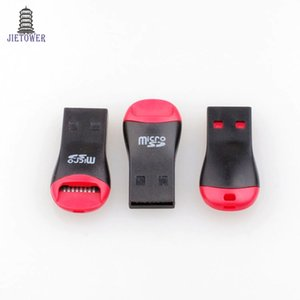 500pcs lot USB 2.0 MicroSD T-Flash TF Memory Card Reader whistle Style Free Shipping