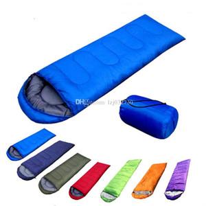 Outdoor Sleeping Bags Warming Single Sleeping Bag Casual Waterproof Blankets Envelope Camping Travel Hiking Outdoor furniture A201