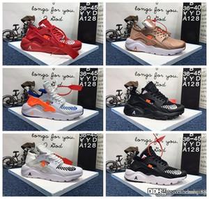 2019 Neue Schuhe für Herren-Lauf huaraches Ultra 4 Männer Frauen Schwarz Weiß Sport Schuhe Oregon AC.2017 Zapatillas Huarache Turnschuhe Größe 36-45