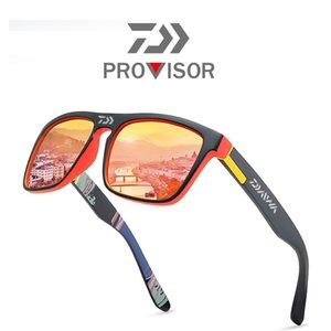 2020 Daiwa новый мужской поляризованные очки Рыбалка Летний Открытый Альпинизм Модные Красочные пленочные спортивные солнцезащитные очки