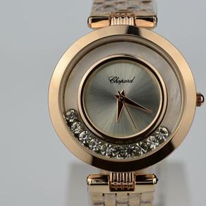 Orologio da donna con diamanti in oro rosa ultra-sottile da donna con diamanti 2019 moda casual da infermiera di lusso per donna vestito da donna fibbia pieghevole orologio regalo da donna
