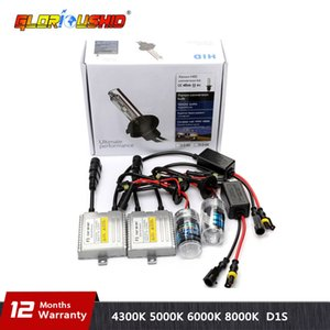 Bir set 35w Hızlı parlak Xenon HID Ampul KIT H1 H3 H4 H7 H11 9005 9006 881 D2S Hid Lambası 4300K 5000K 6000K 8000K H7 xenon balast
