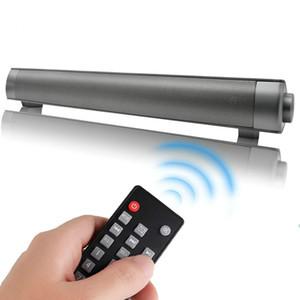 Bluetooth Soundbar portáteis Speakers Soundbar sem fio LP-08 para Home Theater Surround Sound com alto-falantes Subwoofers Faixa