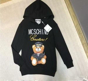 111 2018 designer de moda marca mens clothing hoodies tecido clássico carta europa itália streetwear pullover camisola jumpers