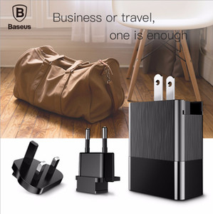 Adapter Head 5V Global Universal Black Travel Charger 3USB Port Mobile Phone Charging Plug US UK Regulations