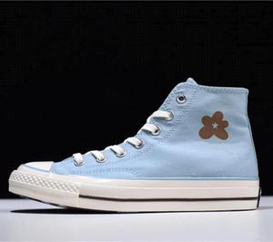 Мужская дизайнерская обувь Golf Le Fleur x 1970-х годов Hi Burlap одна звезда холст кроссовки кожаная повседневная обувь для мужчин dolce
