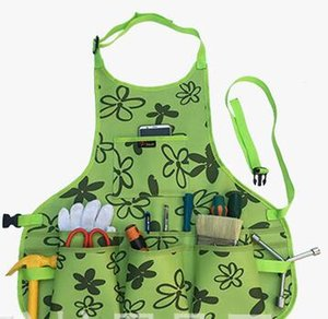 Oxford Cloth Work Apron Garden Apron for Home Garden Waterproof,Heavy Duty Work Apron with Tool Pockets can Adjustable size for Men mj