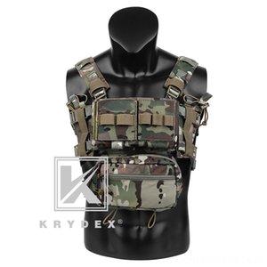 KRYDEX MK3 Classis Chest Rig w Magazintasche Tactical Westen Taktische Bekleidung Für Spiritus Airsoft Jagd ulticam Mini RangerCar