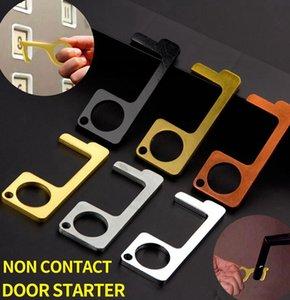Door Closer Non-Contact Door Opener key Ring Tool Door And Elevator Button Anti-contact I Easy To Clean EDC Keychain KKA7806