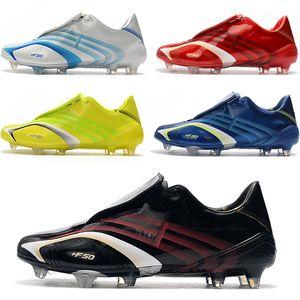 2020 أحذية رجالي جديد المفترس F50 X506 + FG Tunit FG كرة القدم جديد كرة القدم المرابط أحذية كرة القدم SCARPE كالتشيو Zapatos بوتاس دي فوتبول أحذية