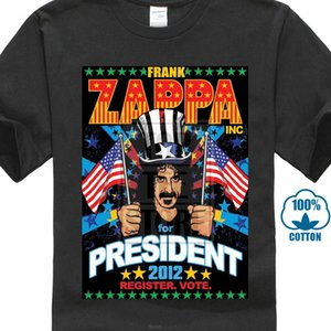 High Quality For Man Better Frank Zappa T Shirt - Zappa For President Beefheart Mothers Fashion Black Sale 100 % Cotton