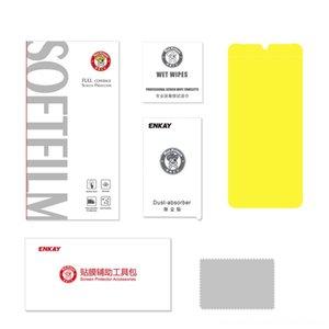 Pantalla Enkay 3D Full Soft Otros accesorios accesorios del juego de la película de hidrogel película protectora del protector hermético al polvo antihuellas para Huawei P3