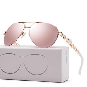 Güneş gözlüğü moda Avrupa ve Amerikan eğilim güneş gözlüğü Retro gözlük tasarımcısı seyahat plaj gözlük anti-UV kemer kutusu