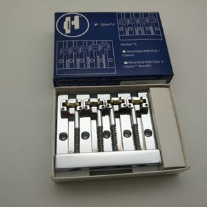 Rare Hiigh Qualität Chrome 4 Strings Bass Bridge, Bass Parts