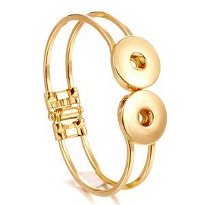 NOOSA Ingwer Snap Schmuck Stulpearmband Druckknopf DIY Noosa Armband Austauschbare VOCHENG 5 Farbe Charm Armbänder