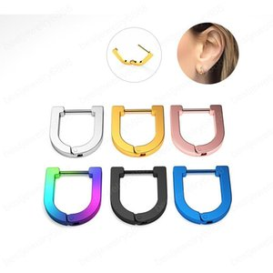 Hot new trendy Nose Rings Body Piercing Jewelry Fashion Jewelry Stainless Steel Nose Open Hoop Ring Earring Studs Nose Rings