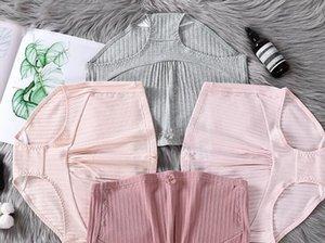 Hot 4 cores Cotton Underwear Maternidade U-Shaped Briefs Gravidez cintura baixa para as mulheres grávidas Plus Size Calcinhas Roupas