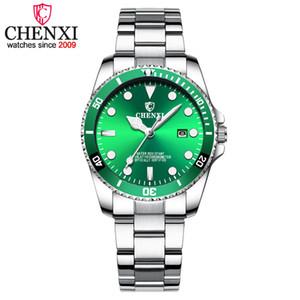 Data de Chenxi Moda Casual Assista Mulheres Luxury Golden Quartz Relógios Mulheres do relógio montre femme Marca Relógios de pulso 2018 Novas xfcs