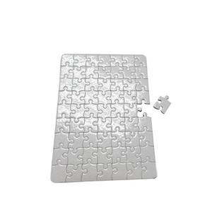 Rompecabezas de papel en blanco para DIY Impresión por transferencia de calor papeles de rompecabezas tamaño A4 para niños DIY Transferencia Térmica Blanca Pearlescent
