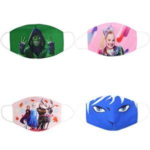Partido de la cara de la nueva caliente Marvel Spiderman Niños Maks Marvel congelado Esponja Anti-polvo Maks protección para Niños Niñas Niños Cara 3-12years Bwkf
