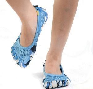 Outdoor Men women Five Beach equipment Water Sports fingers Upstream Lightweight Quickdrying Breathable 5 toes walking Shoes Unisex Aqua Sho