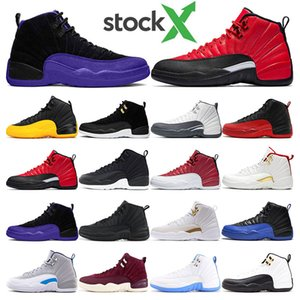 air retro jordan 12  FIBA ​​Game Royal Winterize Gym Red Michigan Bordeaux 12 The Master Flu Game Taxi zapatillas deportivas zapatillas tamaño 7-13