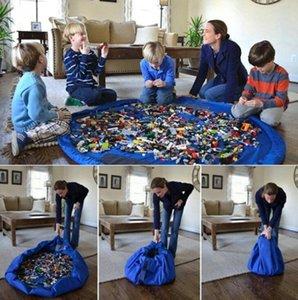 Детские игровые коврики сумки для хранения детские игрушки организатор игровые коврики портативные игрушки одеяло ковер коробки организация Рождественский подарок GGA1429