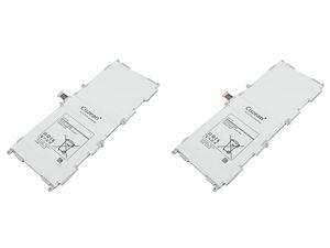 2pcs / lot 6800mAh EB-BT530FBC 3.8VDC substituição Li-Polymer bateria para Samsung Galaxy Tab 10.1 4 T530 T531 baterias T535 P5220 SM-T530NU