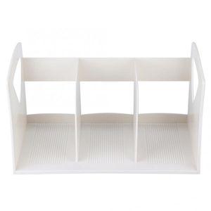 DIY Desktop Paper Storage Box Book File Rack Organizer Document Sorter Office Home office storage