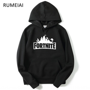 BuQgZ Video-Spiel für Zhuang nv fu zhuang nv fu Elektronische Frauen clothingtress Nacht Fortnite mit Kapuze Rundkragen Pullover mit Hut Winter c