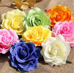 뿌리 줄기 고품질 실크 꽃 결혼식 장식 벽 장식 XD22229없이 가짜 꽃 플라스틱 가짜 장미 꽃